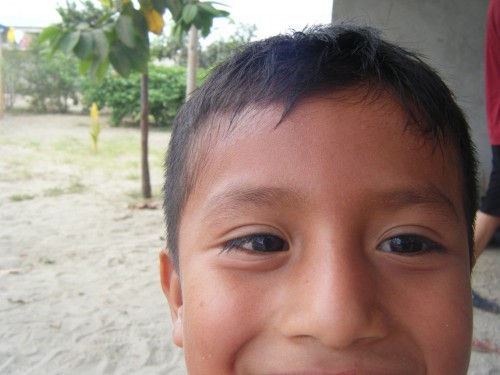 Kid in Ecuador