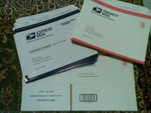 Mailing boxes and envelopes