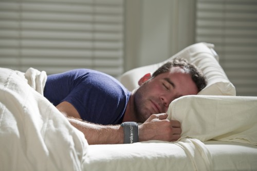 Sleeping well at night thanks to WakeMate!