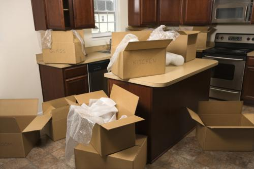 The fun preparation of moving.