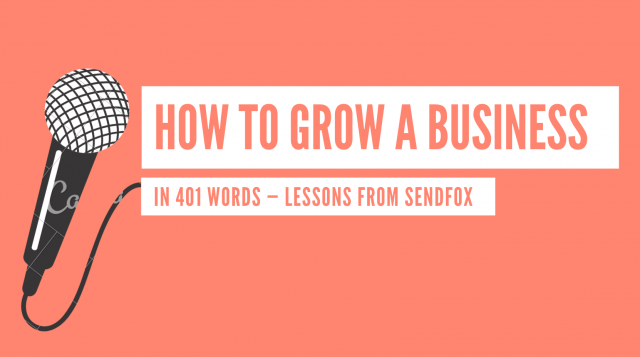 How we grew SendFox in two years